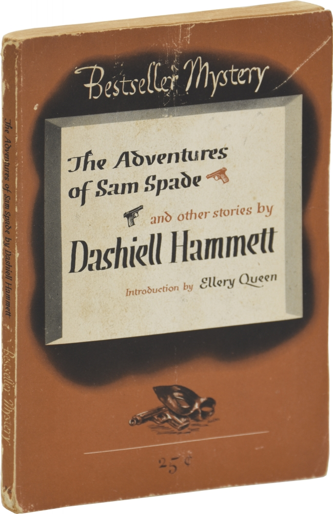 The Adventures of Sam Spade and Other Stories. Dashiell Hammett, Ellery Queen, introduction.