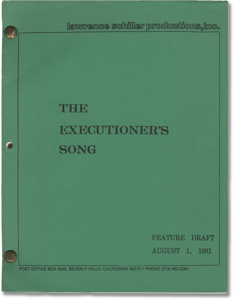 The Executioner's Song. Lawrence Schiller, Norman Mailer, Christine Lahti Tommy Lee Jones, Eli Wallach, Rosanna Arquette, director, novel screenwriter, starring.