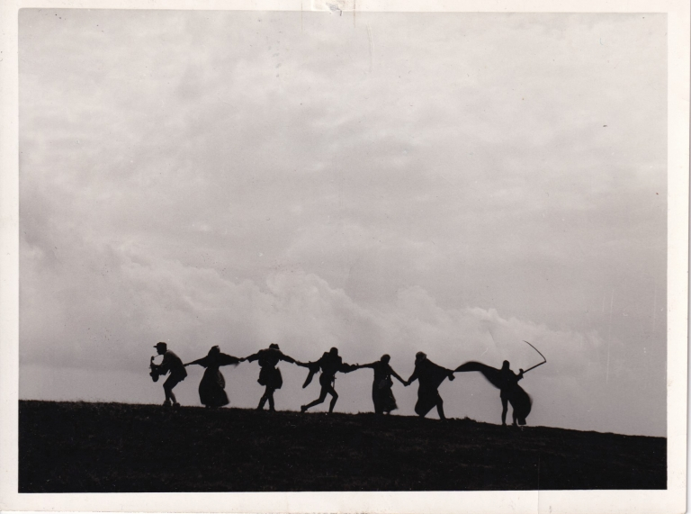 The Seventh Seal. Ingmar Bergman, Gunnar Bjornstrand Max von Sydow, Bibi Andersson, screenwriter director, starring.