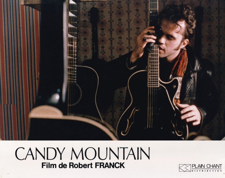 Candy Mountain. Robert Frank, Rudy Wurlitzer, Harris Yulin Kevin J. O'Connor, Tom Waits, co-director, screenwriter co-director, starring.