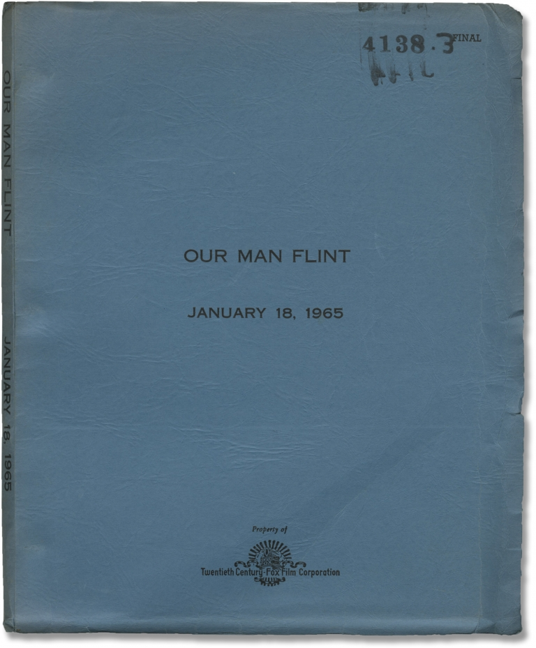 Our Man Flint. Daniel Mann, Ben Starr Hal Fimberg, Gila Golan James Coburn, Lee J. Cobb, director, screenwriters, starring.