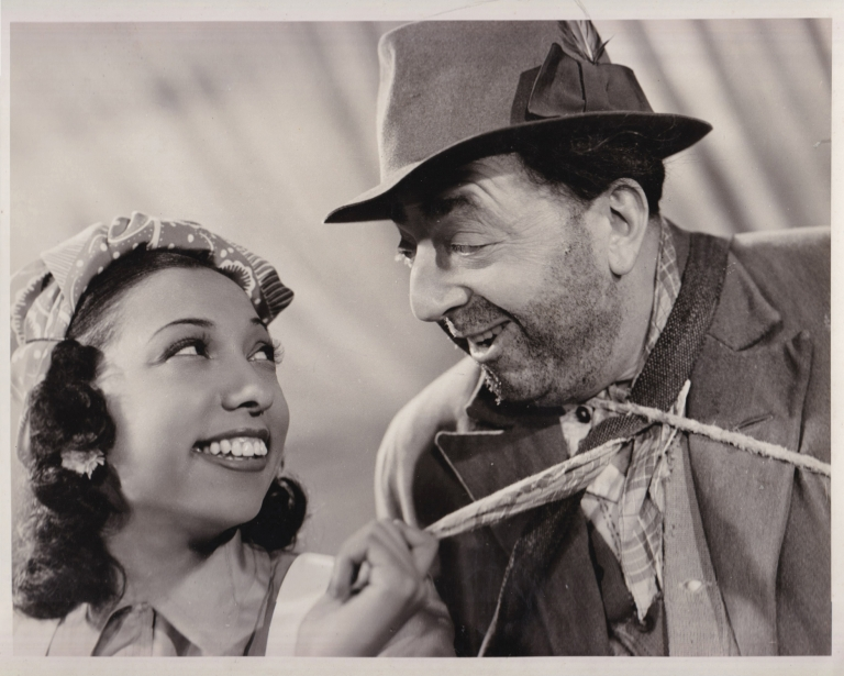 The French Way [Fausse alerte]. Josephine Baker, Jacques de Baroncelli, Michel Duran, Lucien Baroux Saturnin Fabre, starring, director, screenwriter.