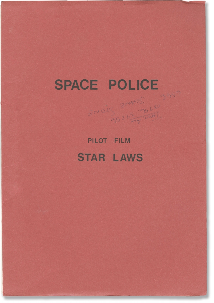 Space Police: Star Laws. Supermarionation, Gerry Anderson, Tony Bell, Tony Barwick, Catherine Chevalier Shane Rimmer, screenwriter, director, starring.
