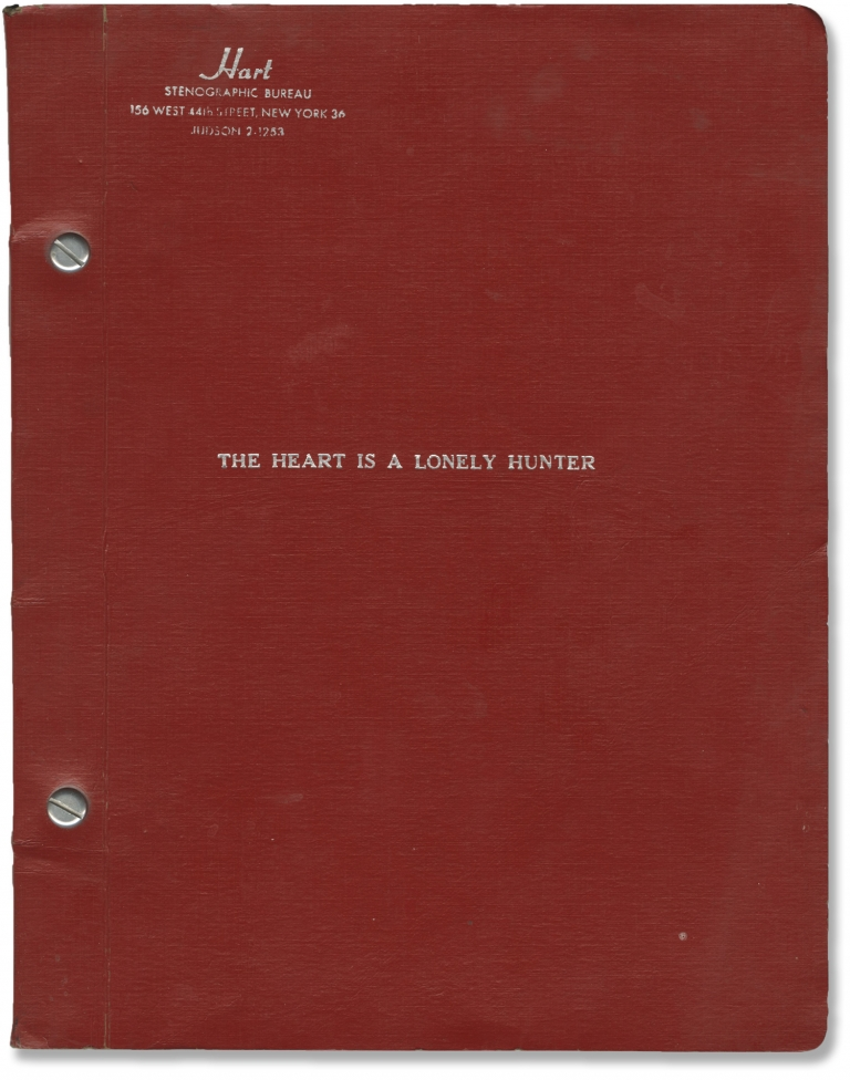 The Heart is a Lonely Hunter. Robert Ellis Miller, Carson McCullers, Thomas C. Ryan, Sondra Locke Alan Arkin, Stacy Keach, Laurinda Barrett, director, novel, screenwriter, starring.