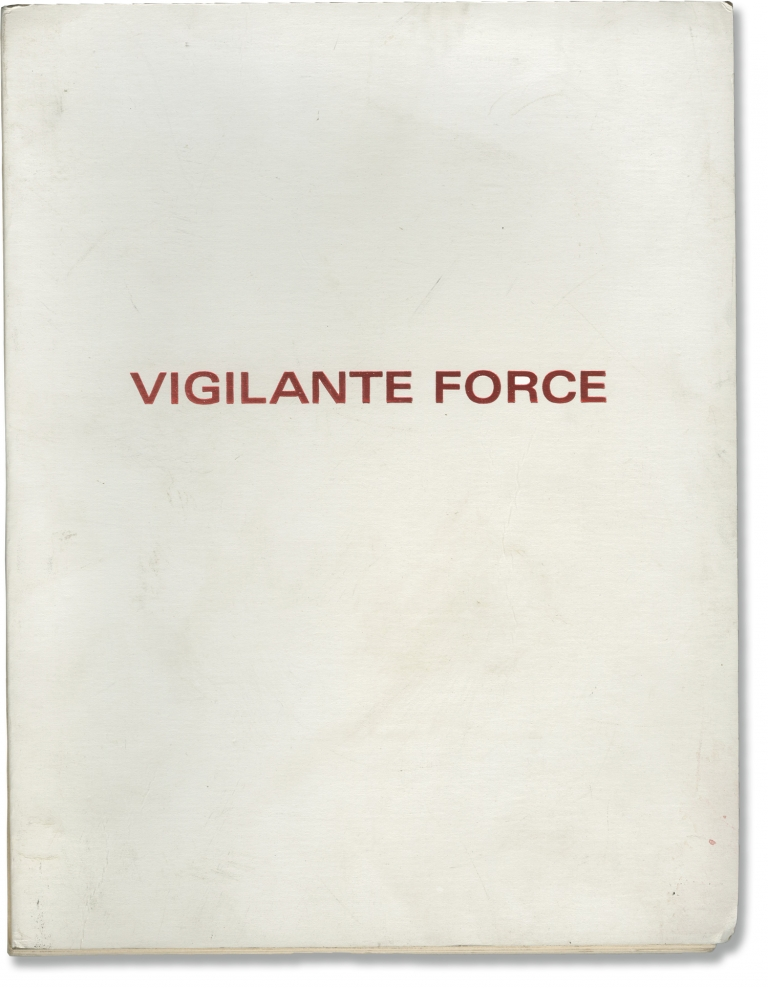 Vigilante Force. George Armitage, Jan-Michael Vincent Kris Kristofferson, Bernadette Peters, Victoria Principle, screenwriter director, starring.