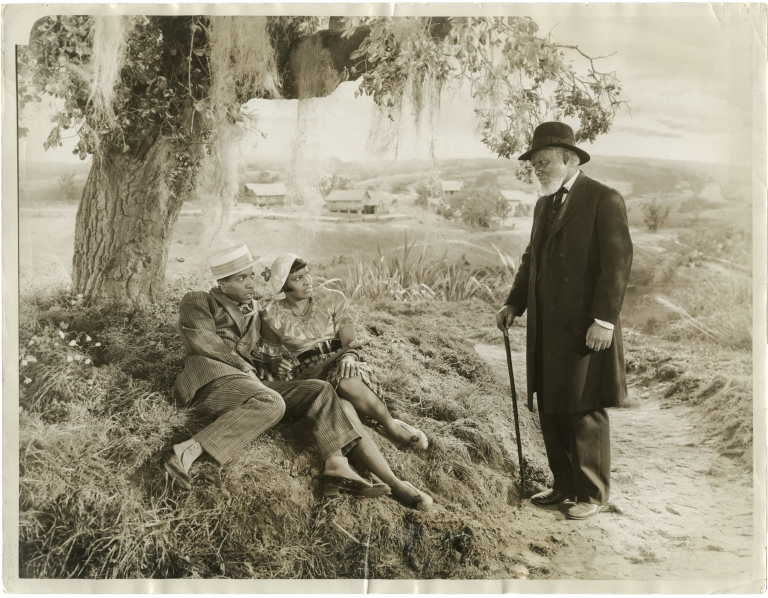 The Green Pastures. Marc Connelly, William Keighly, Roark Bradford, Rex Ingram, screenwriter director, play, director, novel, starring.