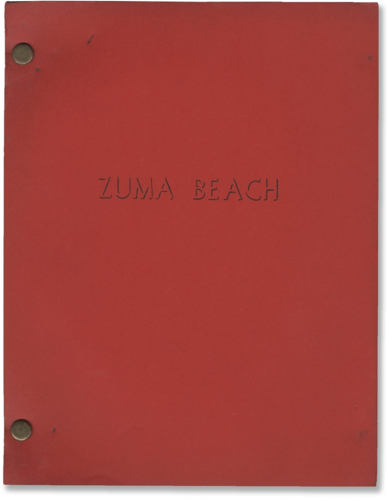 Zuma Beach. John Carpenter, Lee H. Katzin, William A. Schwartz, Steven Keats Suzanne Somers, Rosanna Arquette, Mark Wheeler, screenwriter, director, starring.