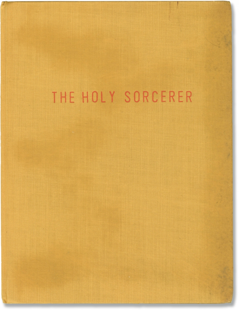 The Holy Sorcerer. Giampaolo Lomi, screenwriter.