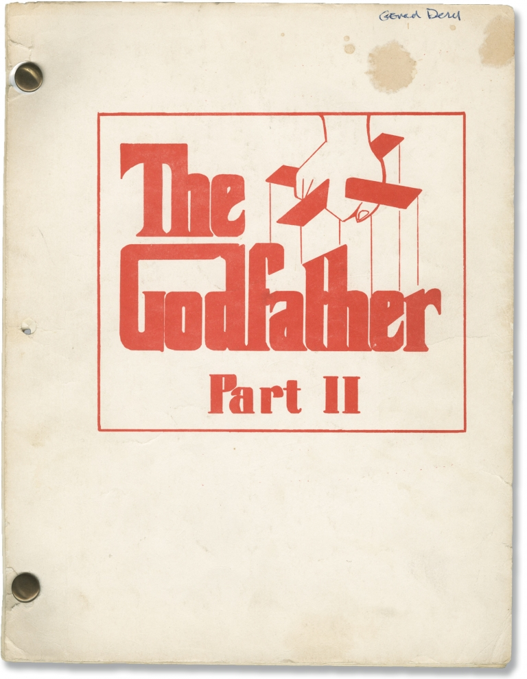The Godfather Part II. Francis Ford Coppola, Mario Puzo, Robert De Niro Al Pacino, Diane Keaton, Robert Duvall, screenwriter director, screenwriter novel, starring.