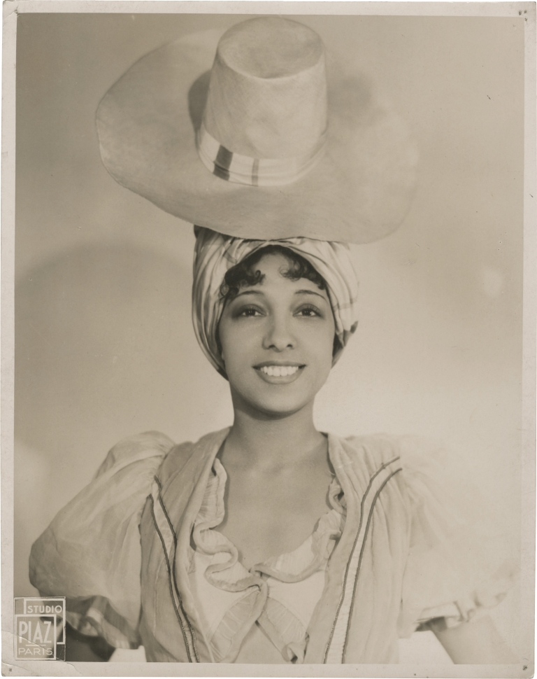 Original photograph of Josephine Baker, 1934. Josephine Baker, subject.