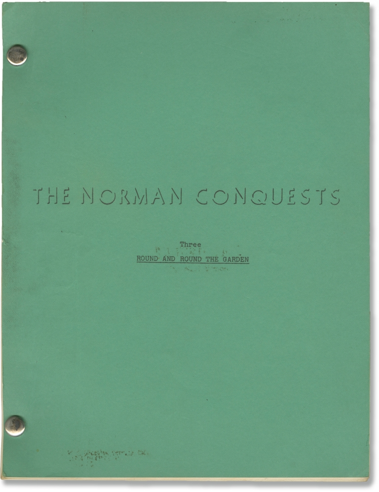 The Norman Conquests: Round and Round the Garden. Alan Ayckbourn, Eric Thompson, Ken Howard Richard Benjamin, Estelle Parsons, Barry Nelson, playwright, director, starring.