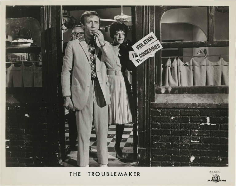 The Troublemaker. Buck Henry, Theodore J. Flicker, Joan Darling Tom Aldredge, James Frawley, screenwriter story, starring, screenwriter director, starring.