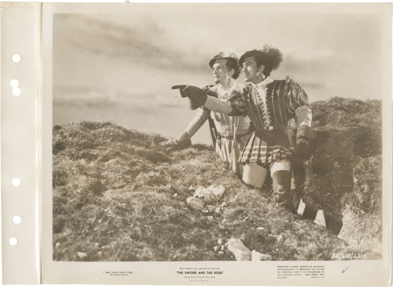 The Sword and the Rose [When Knighthood was in Flower]. Ken Annakin, Charles Major, Lawrence Edward Watkin, Richard Todd Glynis Johns, James Robertson Justice, director, novel, screenwriter, starring.
