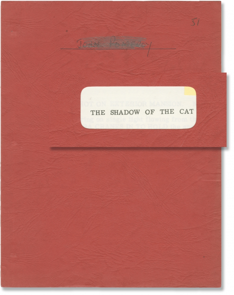 The Shadow of the Cat. John Gilling, George Baxt, Barbara Shelley Andre Morell, William Lucas, director, screenwriter, starring.