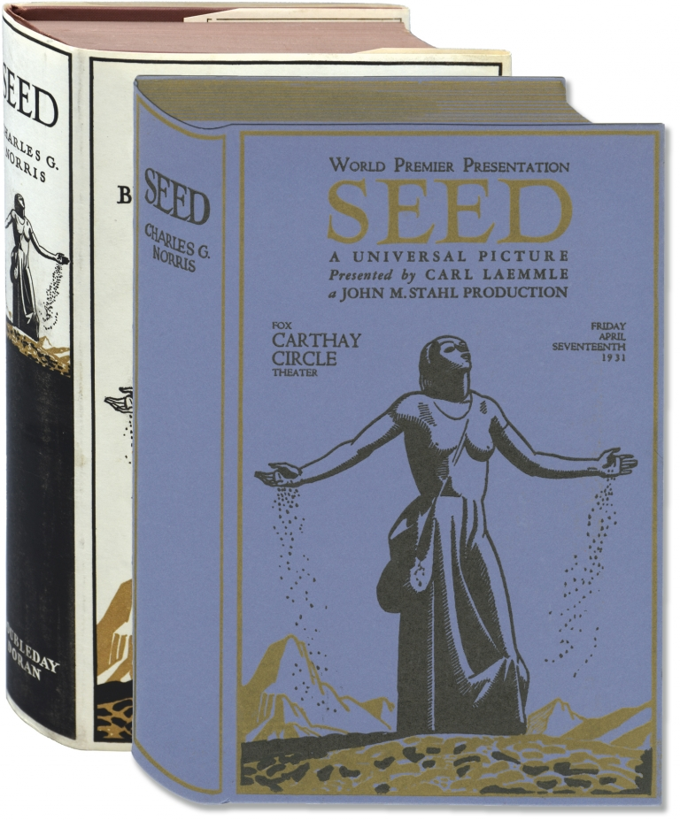 Seed: A Novel of Birth Control. Charles Norris, Rockwell Kent, author.