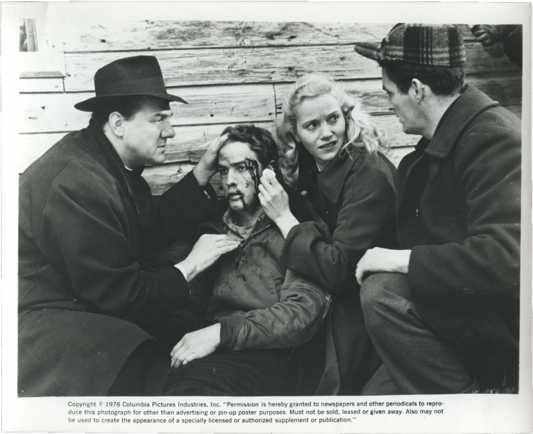 On the Waterfront. Elia Kazan, Budd Schulberg, Karl Malden Marlon Brando, Eva Marie Saint, Rod Steiger, Lee J. Cobb, director, screenwriter, starring.