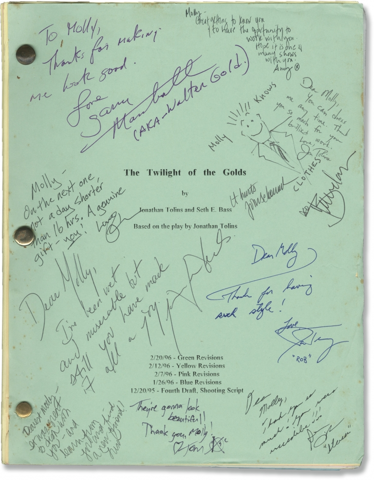 Twilight of the Golds. Jennifer Beals, Faye Dunaway Garry Marshall, Rosie O'Donnell, Brendan Fraser, Ross Kagan Marks, Jonathan Tolins, Seth Bass, starring, director, playwright, screenwriter.