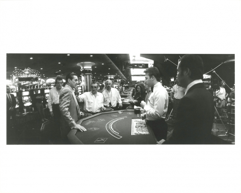 Casino. Martin Scorsese, Nicholas Pileggi, Phil Caruso, Sharon Stone Robert De Niro, Alan King, Don Rickles, James Woods, Joe Pesci, screenwriter director, screenwriter book, still photographer, starring.
