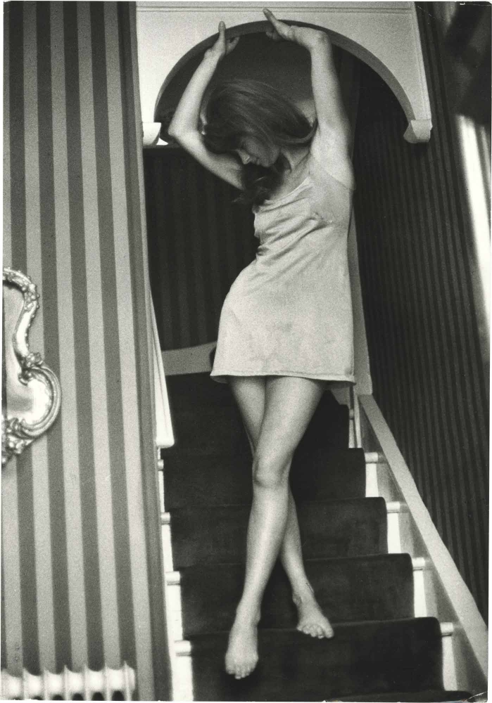 Original photograph of Charlotte Rampling, circa 1967. Charlotte Rampling, Ivan Nagy, subject, photographer.
