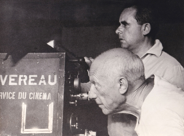 The Mystery of Picasso [Le Mystere Picasso]. Pablo Picasso, Henri-Georges Clouzot, subject, director.