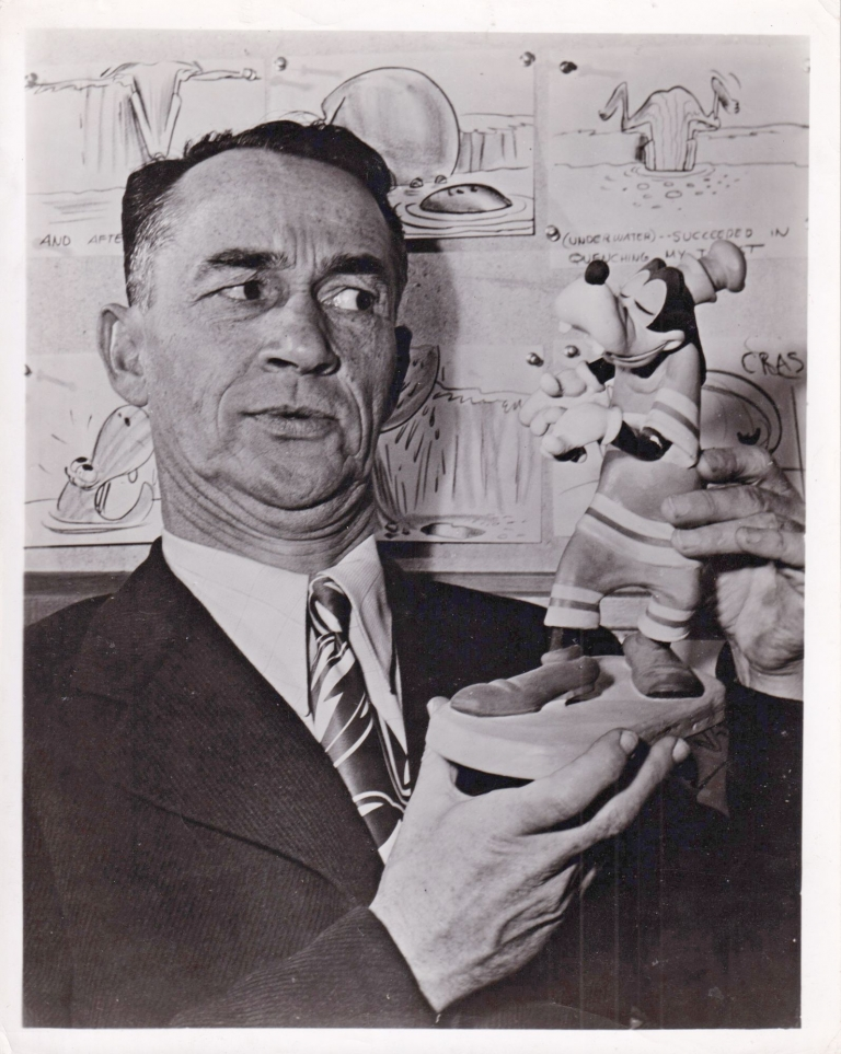 Original photograph of Pinto Colvig, circa 1940s. Pinto Colvig, subject.