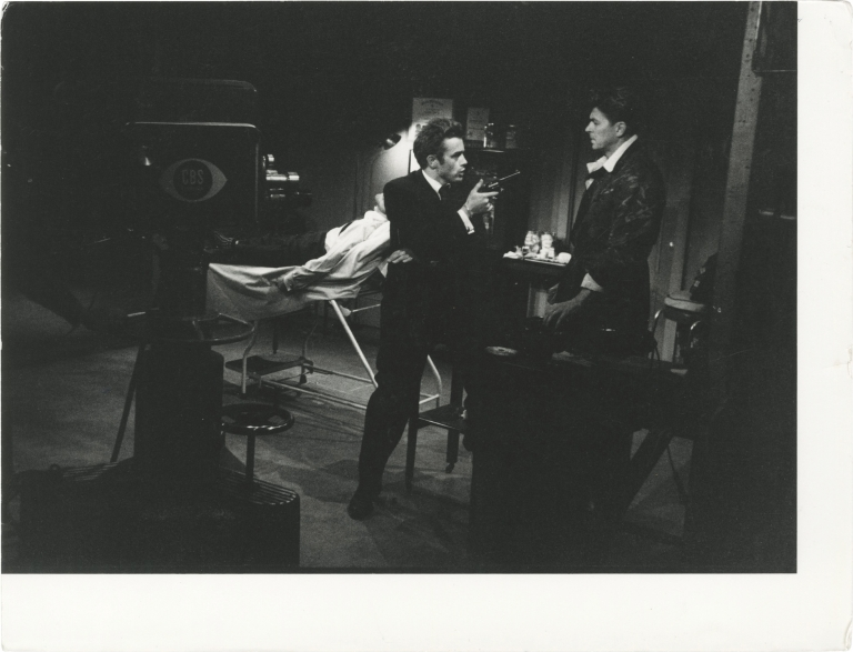 General Electric Theater: The Dark, Dark Hours. Ronald Reagan, Constance Ford James Dean, Don Medford, Arthur Steuer, starring, director, screenwriter.