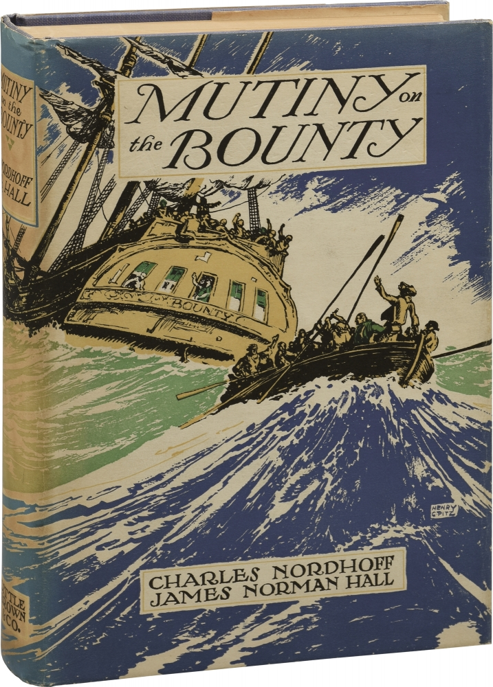 Mutiny on the Bounty. Charles, James Norman Hall Nordhoff.