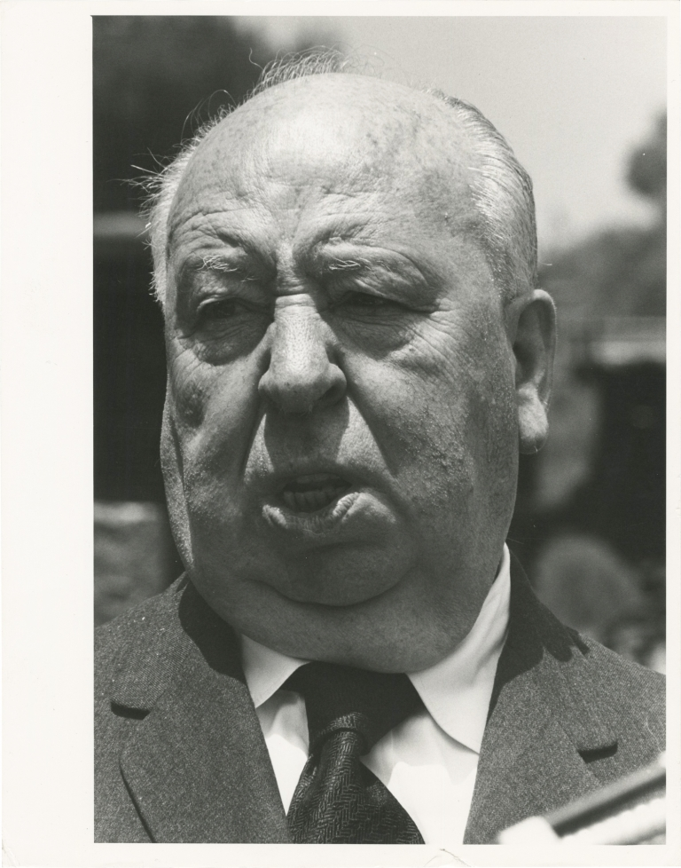 Original photograph of Alfred Hitchcock, circa 1970s. Alfred Hitchcock, subject.