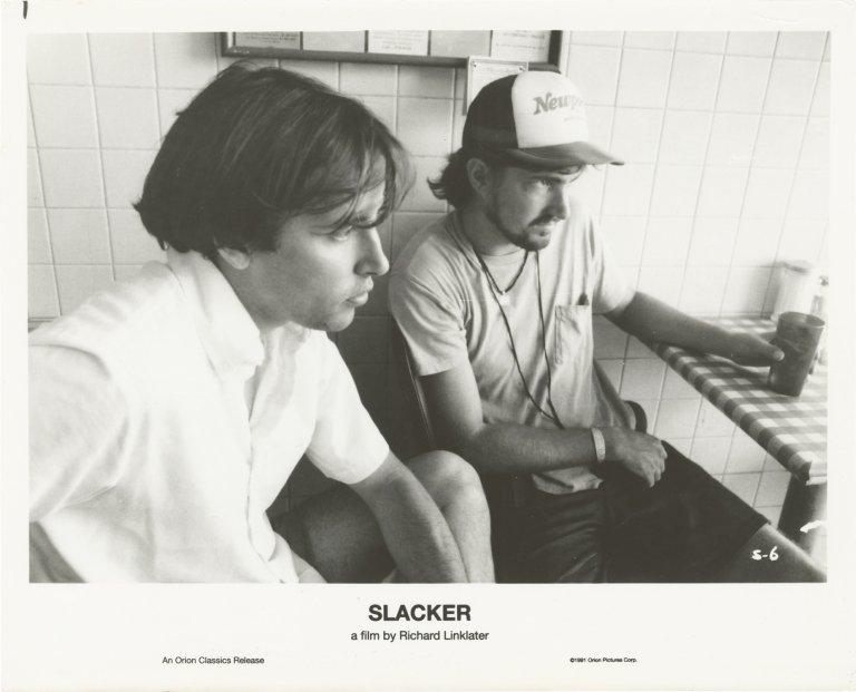 Slacker. Richard Linklater, Mark James Rudy Basquez, Bob Boyd, screenwriter director, starring, starring.