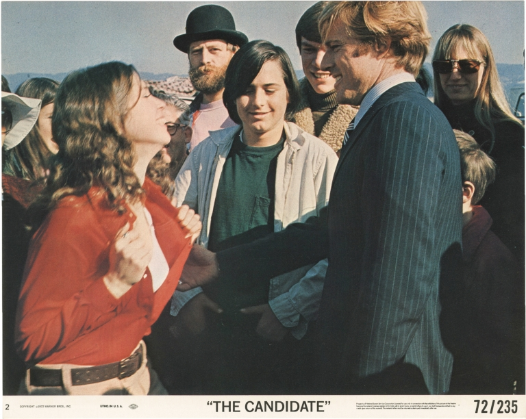 The Candidate. Michael Ritchie, Jeremy Larner, Peter Boyle Robert Redford, Melvyn Douglas, director, screenwriter, starring.