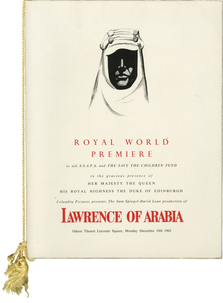 Lawrence of Arabia. David Lean, T E. Lawrence, Michael Wilson Robert Bolt, Anthony Quinn Alec Guinness, Claude Rains, Omar Sharif, Anthony Quale, Jose Ferrer, Jack Hawkins, Peter O'Toole, director, book, screenwriters, starring.