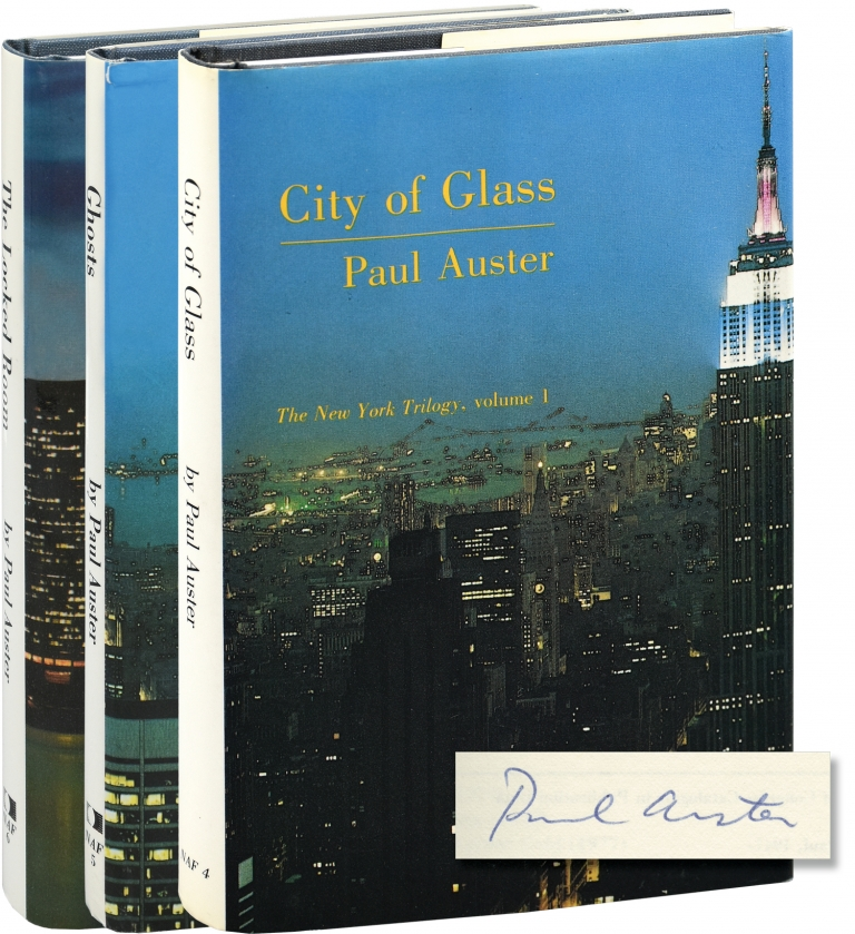 The New York Trilogy: City of Glass, Ghosts, and The Locked Room. Paul Auster.