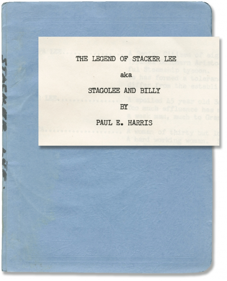 The Legend of Stacker Lee aka Stagolee and Billy. Paul E. Harris, screenwriter.
