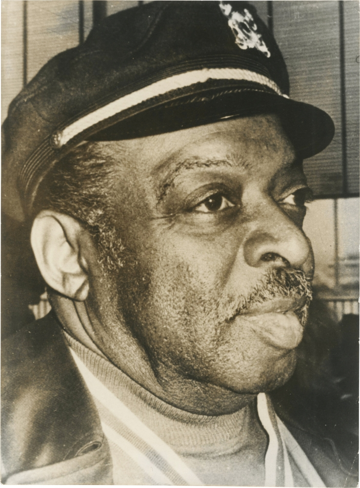 Original photograph of Count Basie, circa 1960s. Count Basie, subject.