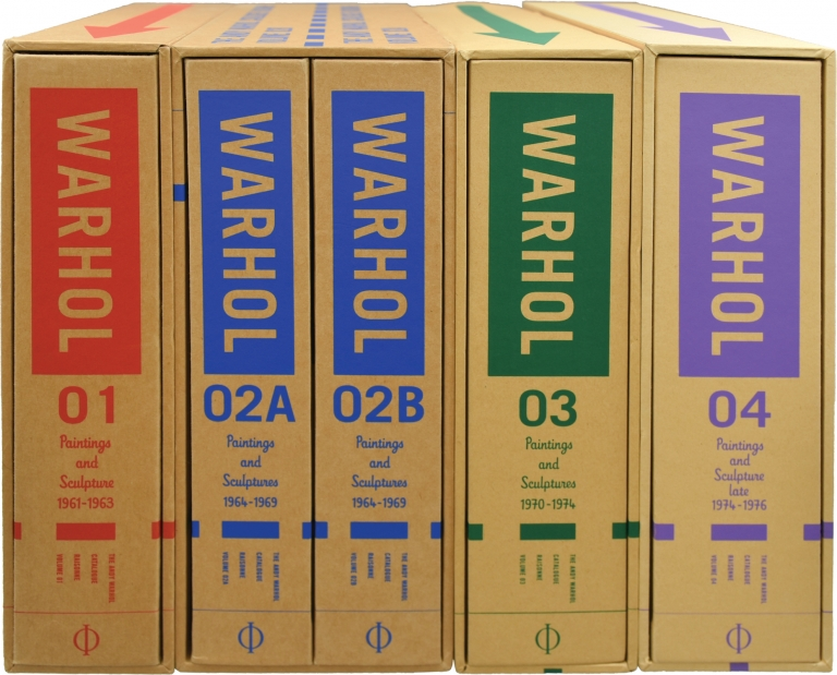 The Andy Warhol Catalogue Raisonne of Paintings and Sculptures, in four volumes. I: 1961-1963; II (in two volumes): 1964-1969; III: 1970-1974; IV: 1974-1976. Andy Warhol.