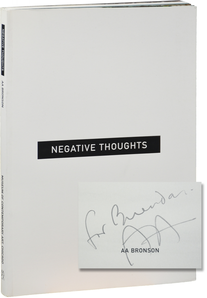 Negative Thoughts. A A. Bronson.