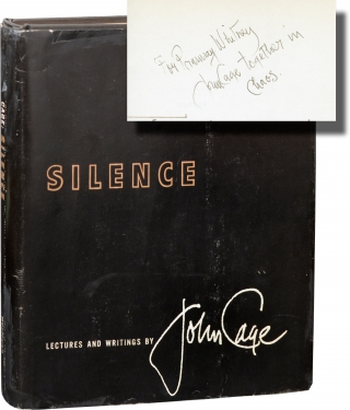 Silence (First Edition, inscribed to Ellsworth Snyder). John Cage