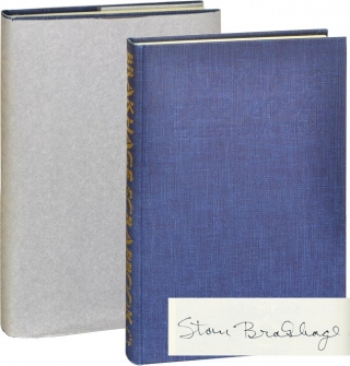 Brakhage Scrapbook: Collected Writings 1964-1980 (Signed Limited Edition). Stan Brakhage.