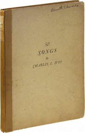 50 Songs (First Edition). Charles Ives