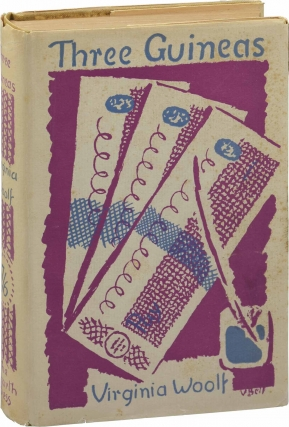 Three Guineas (First UK Edition). Virginia Woolf