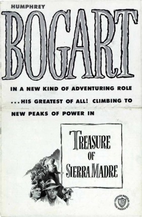 Treasure of the Sierra Madre (Original Film Pressbook). Film Pressbooks.
