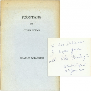 Poontang (Signed First Edition). Charles Willeford