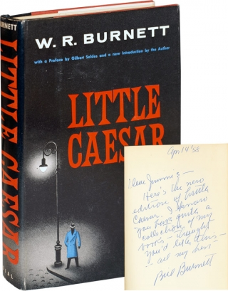 Little Caesar (1958 Edition, inscribed to Jimmy Starr). W. R. Burnett