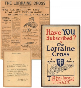 Archive of material relating to The Lorraine Cross. James M. Cain