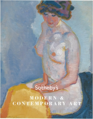 Sotheby's Auction Catalog [Catalogue]: Modern and Contemporary Art - 6 December 2007 - Amsterdam....