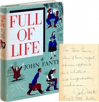 Full of Life (First Edition, inscribed to Richard Quine). John Fante.