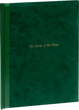 The Loves of the Poets (First Edition). Joseph Mills