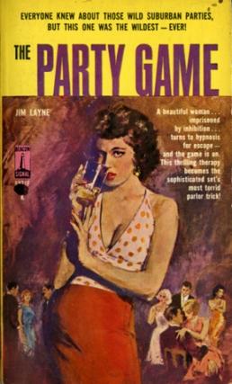 The Party Game (First Edition). Jim Layne