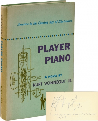 Player Piano (First Edition, Signed and dated in 1971). Kurt Vonnegut Jr
