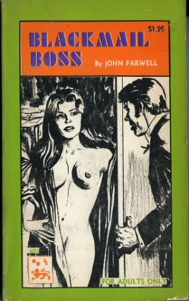 Blackmail Boss (First Edition). John Farwell